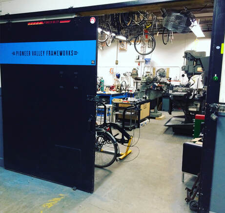 Pioneer Valley Frameworks shop machine shop framebuilding bicycle building shop